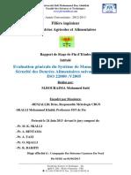 Evaluation generale du Systeme - BOURAIMA Mohamed Said_643