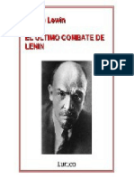 El último combate de Lenin - Moshe Lewin