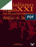 Atilio Borón - Socialismo siglo XXI-ePubLibre (2013)