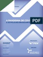 A Pandemia da Covid e os Policiais Brasileiros
