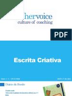 Formação em Escrita Criativa UFCD 9840 - 1ª parte