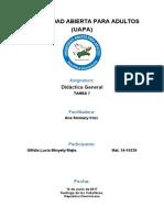 Tarea 7 de Didactica General