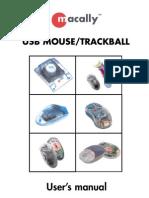 Trackball manual