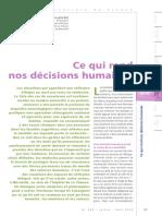 Cours3 - Le Coz Ce Qui Rend Nos Décisions Humaines