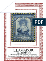 Boletin El Llamador Cuaresma 2011 PDF Web