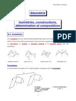 Geometrie 14 Isometries Constructions Determination Et Compositions