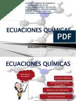 reacciones y ecuaciones