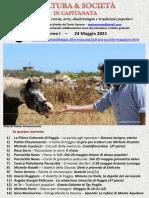 Cultura & Società in Capitanata N. 27 Del 24-05-2021