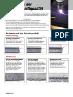 Verbessern der  Plasmaschnittqualität