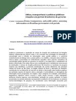 ComunicacaoPublicaTransparenciaEPoliticasPublicas