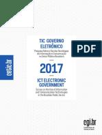 TIC EGOV 2017 Livro Eletronico