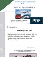 s4 Mme Bennouar Transport Et Assurance Partie Logistique