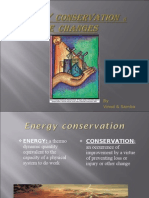 ENERGY CONSERVATION &CLIMATE CHANGES