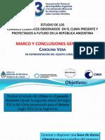 14.Modelos. Cambios Climaticos Observados en El Clima Presente y Proyectados a Futuro en Argentina. Marco y Conclusiones