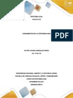 Fundamentos de la Epistemología VICTOR GONZALEZ