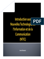 Chp1 Introduction Aux NTIC