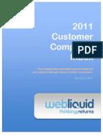 Customer Complaint Index 2011 Web Liquid