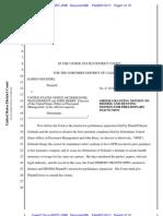 Golinski v. OPM - ORDER to Dismiss