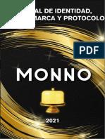 Manual de identidad, imagen y protocolo de la organización MONNO Carnes y Whisky.