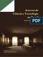 Livro Acervos de Ciencia e Tecnologia