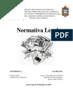 NORMATIVA LEGAL ARQUITECTURA Y URBANISMO