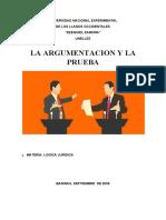 (06)EFICACIA DE LA ARGUMENTACION 06