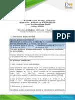 Guía de actividades y rúbrica de evaluación – Unidad 2 - Tarea 3 - Analizar la interacción suelo-microorganismo-planta (1)