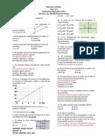 EVALUACION DIAGNOTICA DE  FISICA - A - GRADO- 11 . 2021