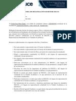 DECLARATORIA DE DESAFILIACIÓN SEMESTRE 2021-01