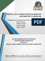 LEY DE CELEBRACIÓN DE TRATADOS; DIAPOSITIVAS