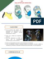 PROGRAMA DE PROTEÇÃO RESPIRATÓRIA - PPR