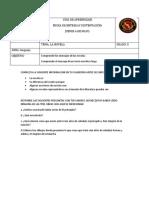 TRABAJO EL PRINCIPITO 5°