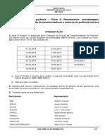 NBR 5356 - 9 Recebimento_Instalação e Manutenção de Trafos