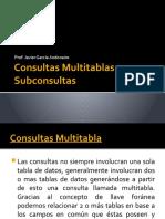 Clase 07- Consultas Multitablas - Subconsultas