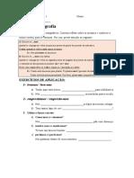 LC - Exercícios ortografia 1