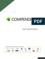 Compendium Guide to Content Creation
