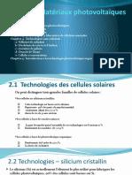 Energie Photovoltaique Chap1
