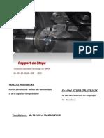 Rapport de stage mecanique