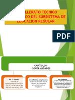 BTH. DEL SUBSISTEMA DE EDUC. REGULAR