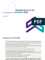 Loi Réctificative LF 2020
