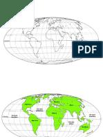 Planisfério e Europa