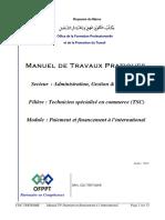 PAIEMENT ET FINANCEMENT NTERNATIONAL MTP TSC