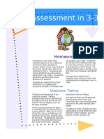 Assessment Letter and Rationale
