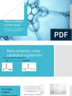 Beta-oxidarea Acizilor Grași