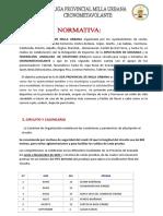 Normativa Liga 2021 + Formulario
