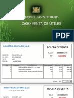 EJEMPLO DE NORMALIZACION - 01 - 1FN,2FN,3FN