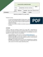 Actividad de Apoyo y Prueba Por Competencias EXPRESIÓN CORPORAL (SEXTO a NOVENO) Del Segundo Periodo2