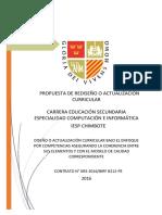 IESP Chimbote - Propuesta elaborada Computación