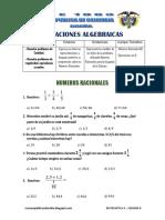 Matematic4 Sem8 Experiencia3 Actividad4 Numeros Racionales NR04 Ccesa007