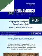MÚSICA – Função Social Da Música